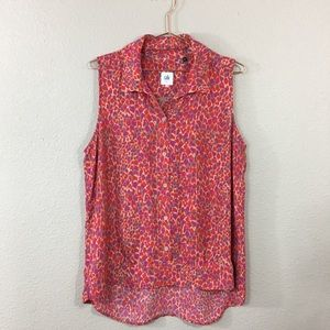 Cabi • Heartbreaker Sleeveless Blouse • Size Large